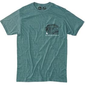 Hippy Tree Roadside Miehet Lyhythihainen paita , vihreä